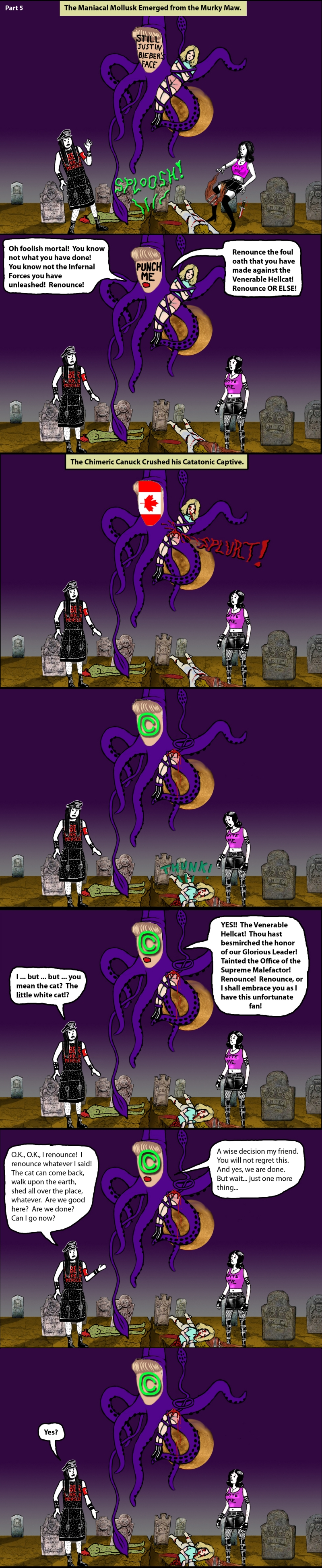 The Adventures of Goth Guy 5
